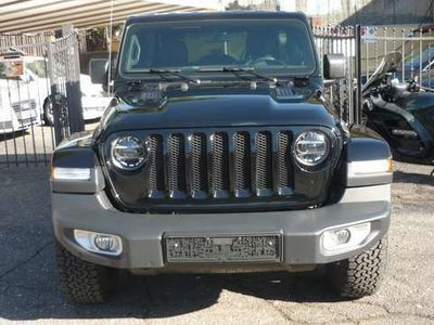 usata Jeep Wrangler 2,2 MJET SAHARA 200CV AUTOMATICO