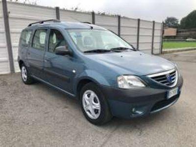 usata Dacia Logan 7 posti Solo per ex po rt