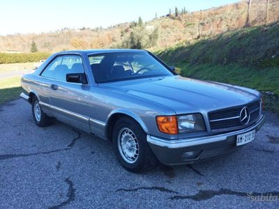 używany Mercedes 380 anno 1984 - ASI+CRS
