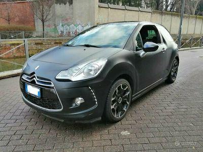 usata Citroën DS3 1.4 VTi 95 Just Black Milano