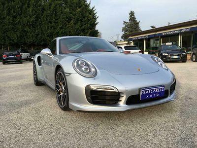 usata Porsche 911 Turbo S 991 3.8Coupé CARBOCERAMICA/STUPENDA!!!