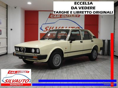 gebraucht Alfa Romeo 2000 Alfetta116 55 F