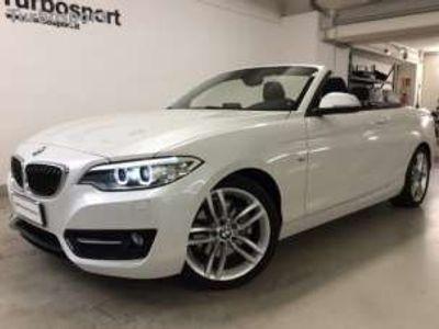 "usata BMW 220 d Cabrio Sport *AUT*NAVI*XENO*18""*"