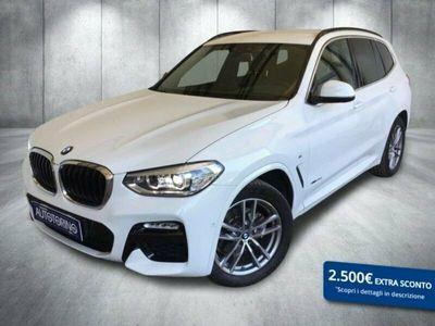 usata BMW X3 xdrive20d Msport 190cv auto