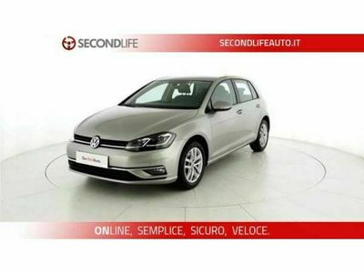 usata VW Golf 7ª serie VII 2017 5p 5p 1.6 tdi Business 115cv
