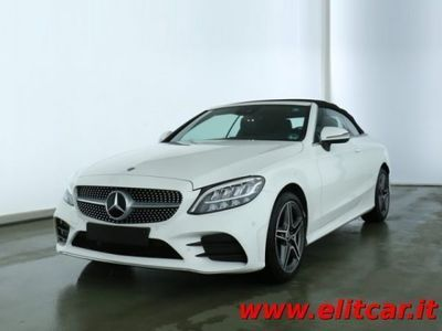 usata Mercedes C200 Auto EQ-Boost Cabrio Executive