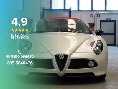 used Alfa Romeo 8C Spider -