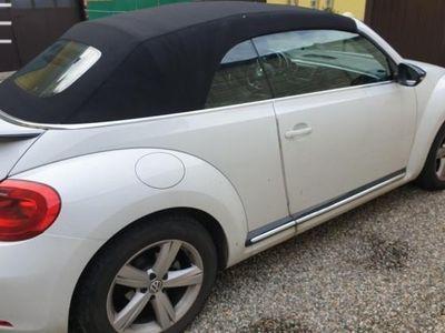 usata VW Maggiolino Cabrio 2.0 TDI DSG Sport Blue