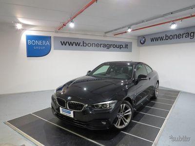 usado BMW 420 Serie 4 Coupé d xDrive Luxury del 2017 usata a Brescia