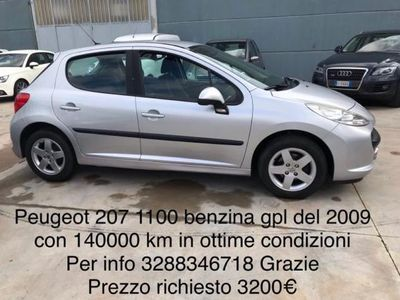 used Peugeot 207 1.4 8V 75CV 5p. X Line ECO GPL