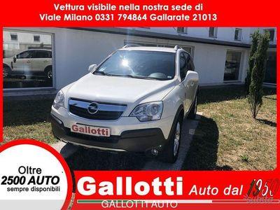 usata Opel Antara 2.4 16V benzina gpl 4x2 Edition Plus