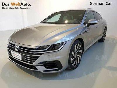 brugt VW Arteon Serie 1 (2017) 2.0 BiTDI SCR 4MOTION DSG Sport Blu
