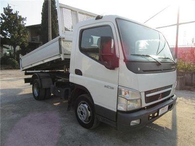 usata Mitsubishi Canter 3c13 3.0 Tdi 130cv Ribaltabile Trilaterale Euro 4 Usato