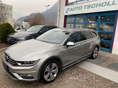 """usata VW Passat Alltrack 2.0 Bi-TDI 239Cv 4Motion DSG 18"""" LED ACC Navi AHK"""