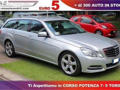 used Mercedes E350 Classe ECDI S.W. BlueEFF. 4MATIC Avantg. Unicopro