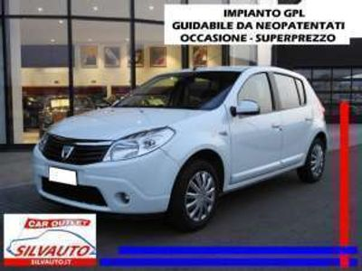 usata Dacia Sandero 1.4 8v gpl 75cv benzina/gpl