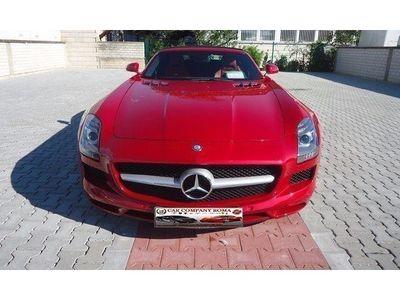 usata Mercedes SLS AMG Roadster Saphirrot / Pelle N Usato