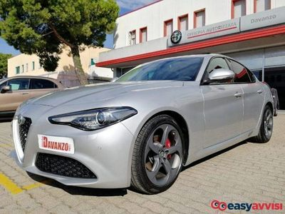 gebraucht Alfa Romeo Giulia 2.2 turbodiesel 180 cv super grigio silverstone diesel