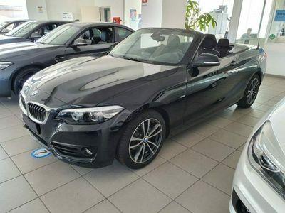 usata BMW 218 218d Cabrio Sport d Cabrio Sport