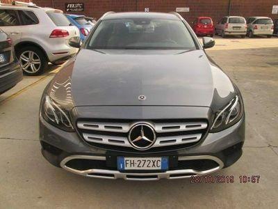 usata Mercedes E220 S.W. 4Matic Auto Premium All-Ter