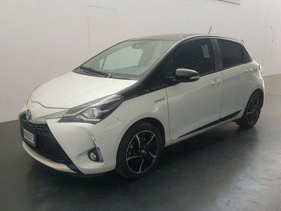 """usata Toyota Yaris Hybrid 1.5 Hybrid 5p. Trend """"White Edition"""""""