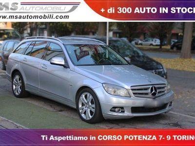 used Mercedes C220 CDI S.W. Avantgarde 18 Navi Unicoproprietario