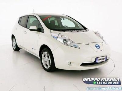 usata Nissan Leaf Acenta 30KWh del 2016 usata a Milano
