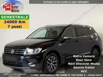 usata VW Tiguan Allspace Comf. 2018 1.4 B 150CV 6Man 5P Nero