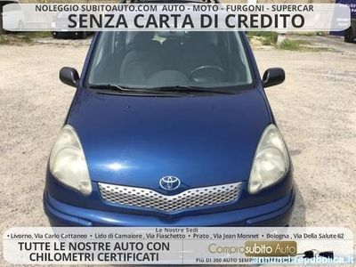 used Toyota Yaris Verso 1.3i 16V cat Luna