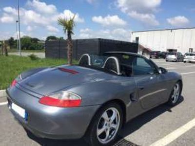 usata Porsche Boxster 2.7i 24v navy pelle sport design 220 cv benzina