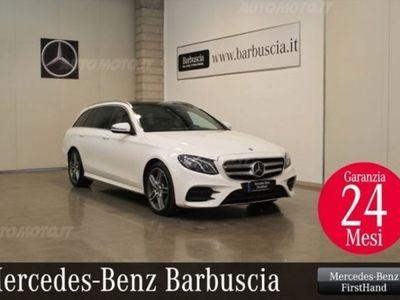 usata Mercedes 350 Classe E Station Wagond 4Matic Auto Premium del 2017 usata a Pescara