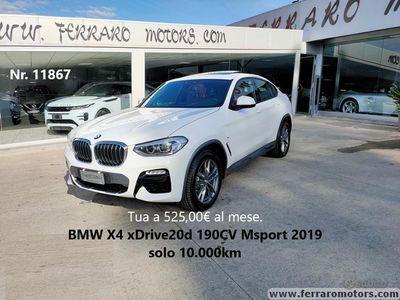 usata BMW X4 xDrive20d 190CV Msport solo 10.000km
