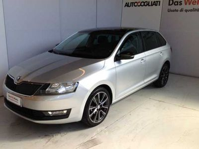 usado Skoda Rapid Rapid/SpacebackSpaceback 1.4 TDI 90 CV Design Edition
