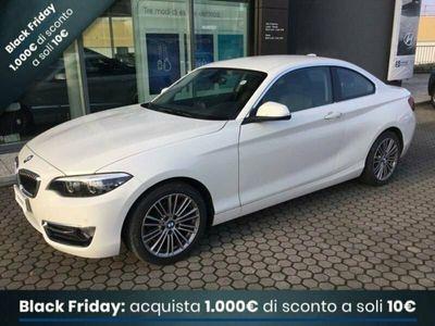 usata BMW 218 Serie 2 Coupé d coupe Luxury 150cv auto my18