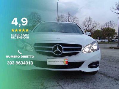 usata Mercedes E220 BlueTEC S.W. Automatic Sport