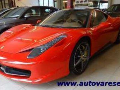 usata Ferrari 458 Italia DCT full CARBON!! ROSSO CORSA UNICA!! Benzina