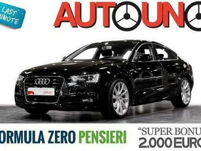 "usata Audi A5 1ª serie SPB 2.0 TDI Multitronic S-LINE + NAVI + 19"""