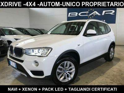 """usata BMW X3 xDrive20d Business xLine 17""""+Navi+Xenon+Unico Prop"""