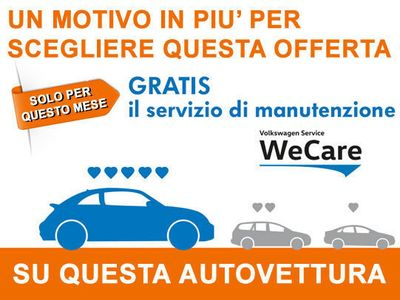 usata VW Golf Sportsvan 1.6 TDI 110 CV DSG Executive (4 ANNI GAR + 'WECARE')