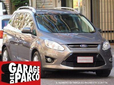 usata Ford C-MAX 7 1.6 TDCi TITANIUM NAVI 7 POSTI TAGLIANDI