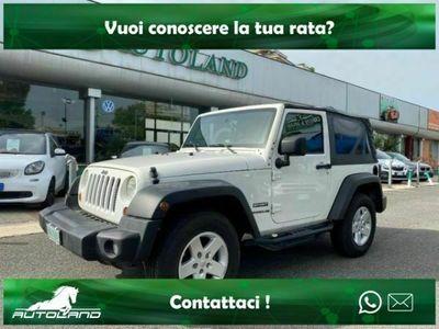 usata Jeep Wrangler 2.8 CRD DPF Rubicon Auto