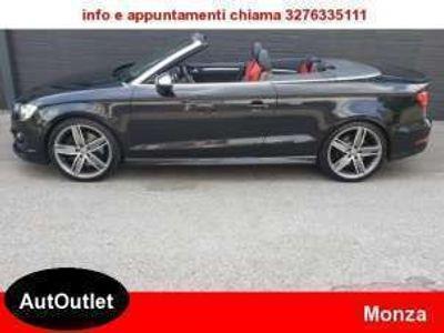usata Audi S3 Cabriolet 2.0 TFSI quattro S tronic UFFICIALE IT IVA