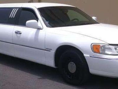 usata Lincoln Town Car limousine 1998