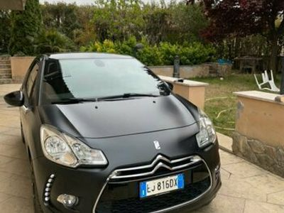 usata Citroën DS3 JUST BLACK 1.6 HDi 110