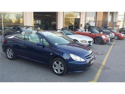usata Peugeot 307 CC 1.6 INTERNI IN PELLE GRIGIO CHIARO