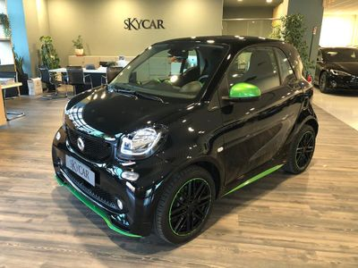 gebraucht Smart ForTwo Electric Drive Greenflash Edition Brabus Neo Patentato