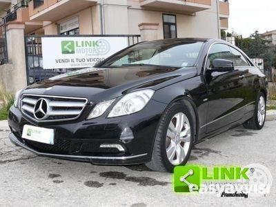 used Mercedes E220 classecdi coupé blueefficiency avantg. diesel