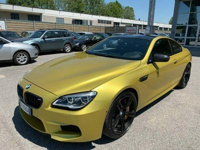 used BMW 600 Serie 6 M6 Coupé *Gold* competition limited editioncv