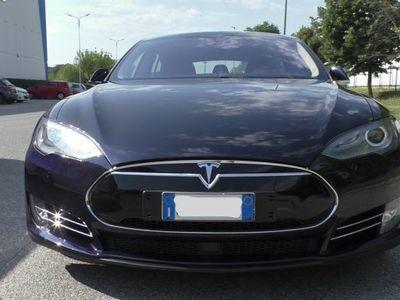 usata Tesla Model S P85D Pelle Tetto 515KW con Supercharger GRATIS a vita Garanzia