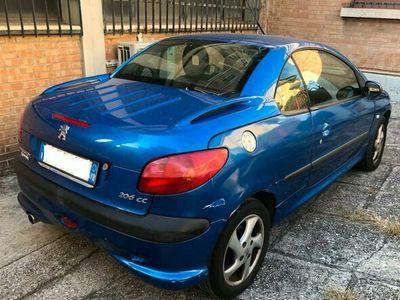 usata Peugeot 206 CC 1.6 benzina